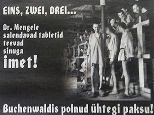 Lose weight FAST with Dr Mengele's slimming pills